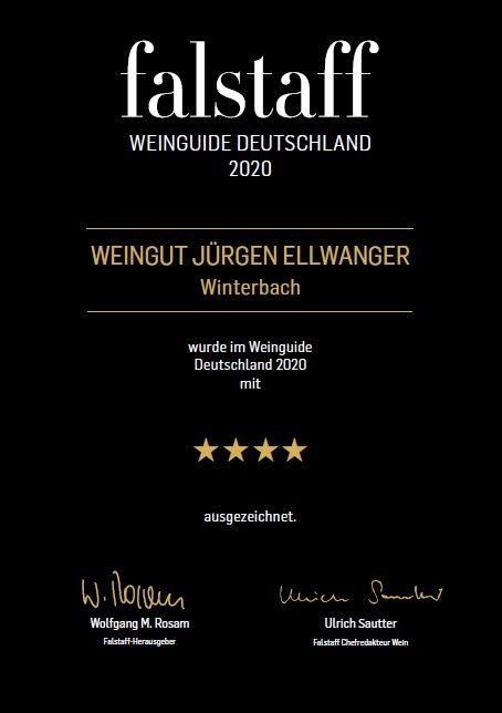 Falstaff Weinguide 2020 - Vier Sterne