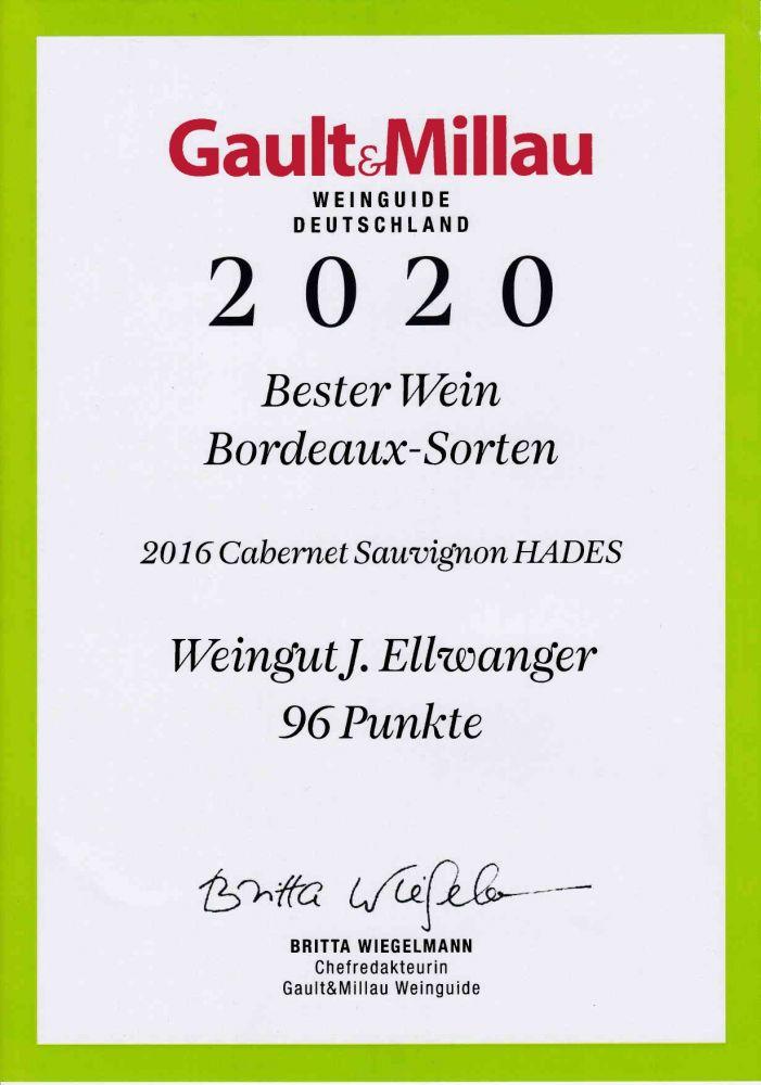 Gault Millau WeinGuide 2020  Bester Wein Bordeaux Sorten