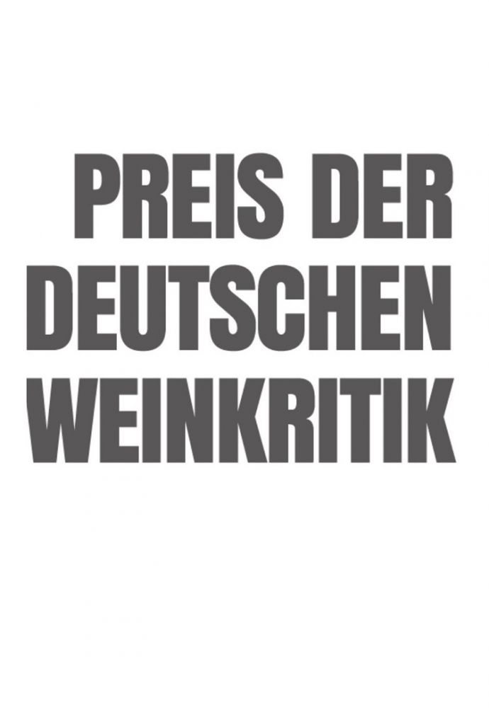 Preis der deutschen Weinkritik - H.A.D.E.S