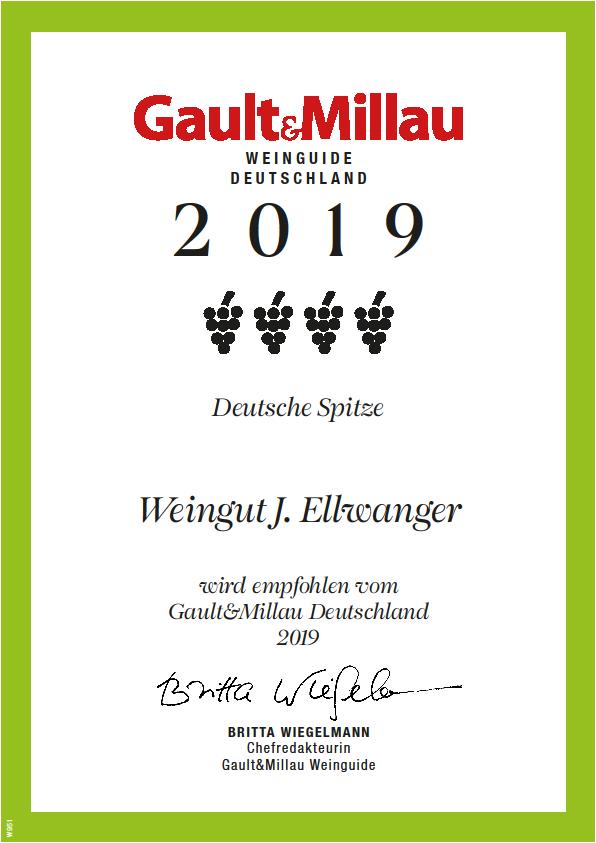 Gault Millau Weinguide 2019 Deutsche Spitze