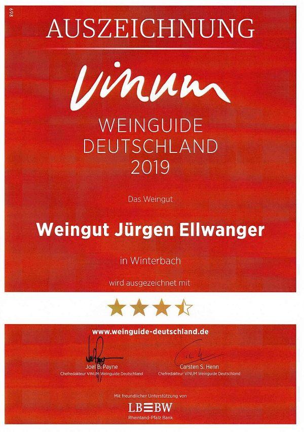 2019 Vinum Wineguide Aufsteiger