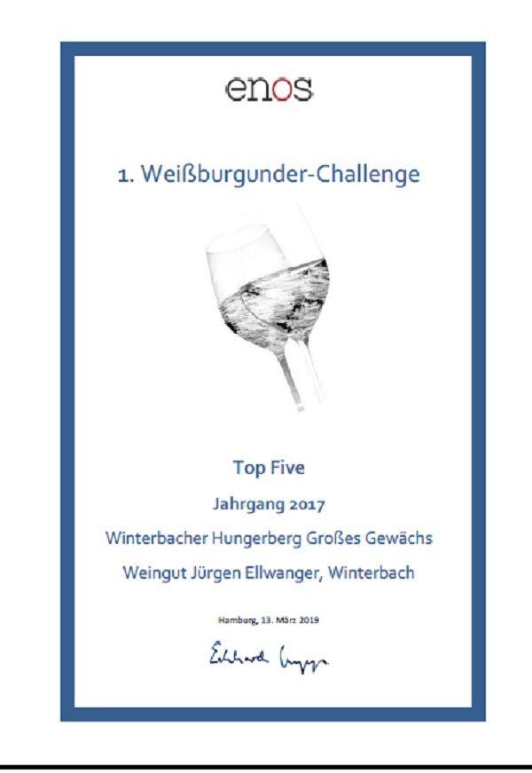 Enos Besten Weissburgunder Deutschlands