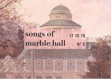SONGS OF MARBEL HALL NO.5 mit Felix Krammer und Präsentation der  ÈCLAT DRY GYN