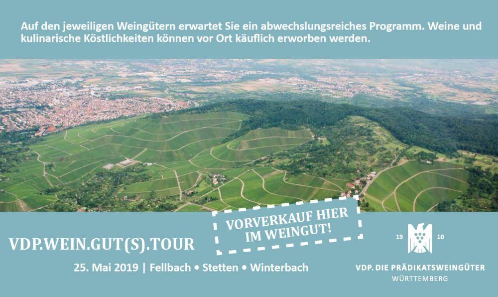 VDP.WEIN.GUT(S). TOUR  Fellbach- Stetten- Winterbach